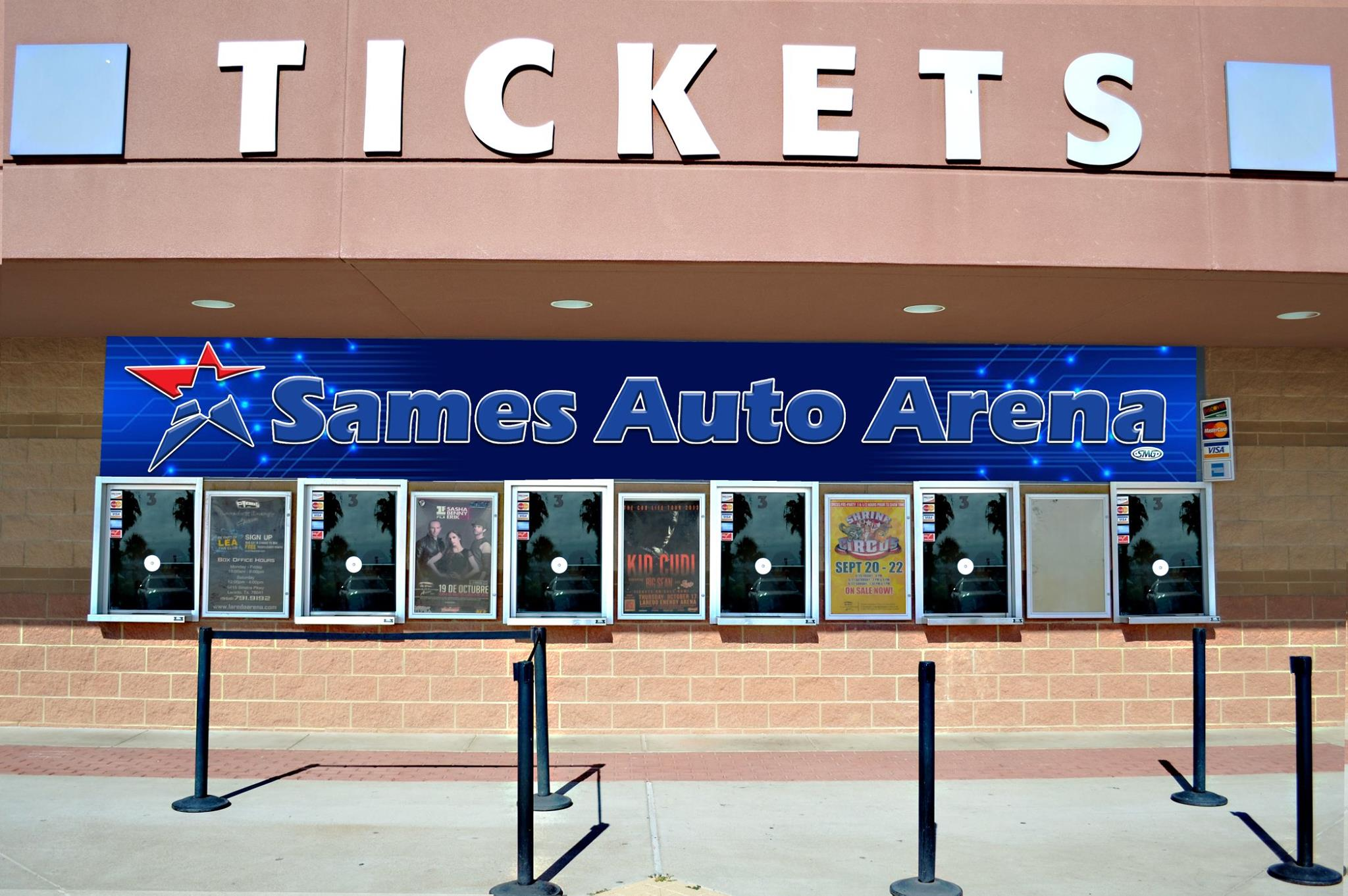 Sames Auto Arena Box Office