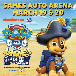 PAW Patrol Live! The Great Pirate Adventure