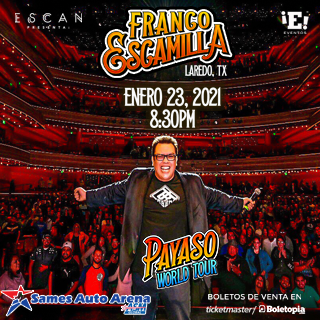 Franco Escamilla - Payaso USA Tour