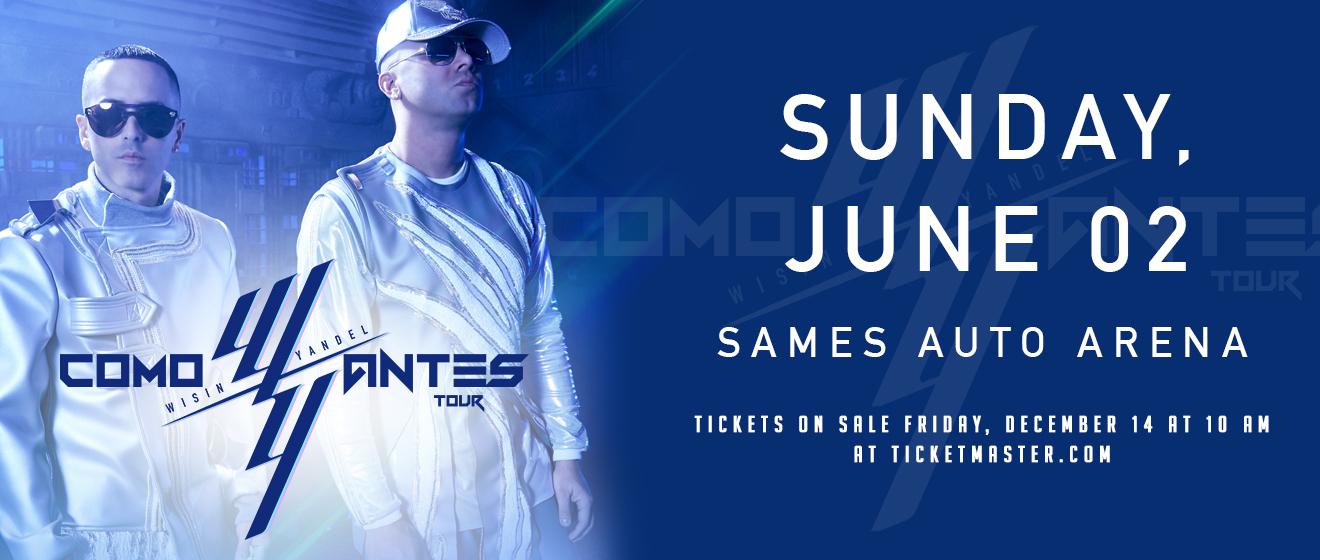 Wisin & Yandel: Como Antes Tour