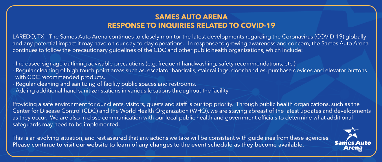 RESPONSE TO INQUIRIES RELATED TO COVID-19
